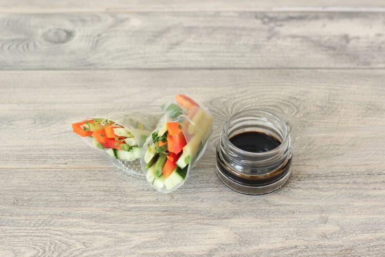 Sajgonki warzywne - Krok 3