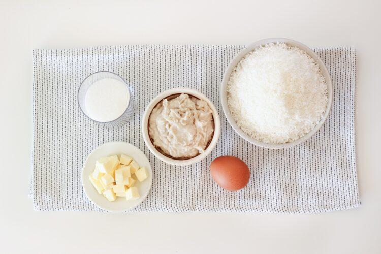 Ciasteczka kokosowe z białą fasolą - Krok 3