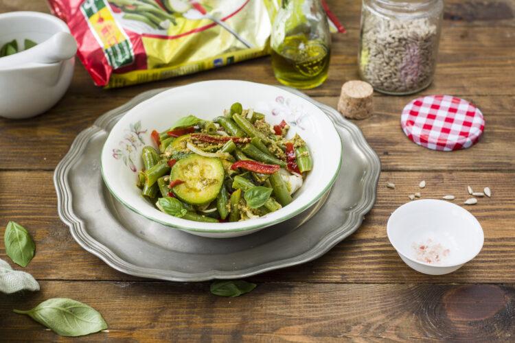 Warzywa w sosie bazyliowym - Krok 7