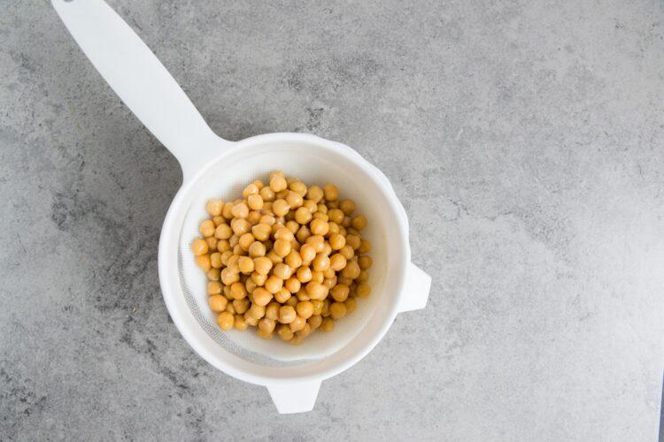 Hummus z marchewką - Krok 1