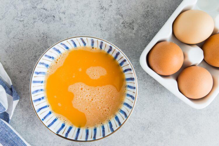 Omlet z warzywami po azjatycku - Krok 3
