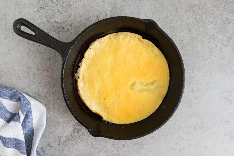 Omlet z warzywami po azjatycku - Krok 5