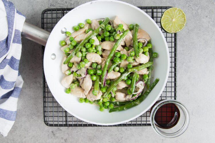 Zielone curry z kurczakiem - Krok 6