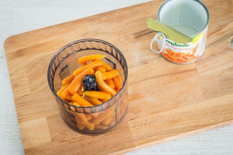 Lody marchewkowe z czekoladą - Krok 1
