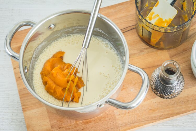 Lody marchewkowe z czekoladą - Krok 2