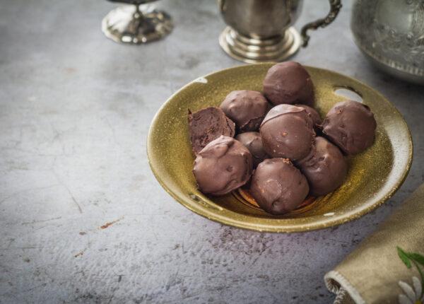 Trufle czekoladowe z czerwonej fasoli