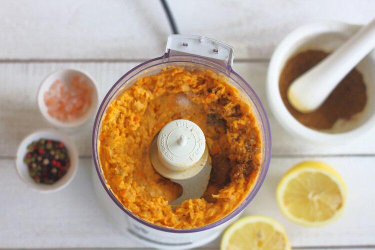 Hummus z pieczoną dynią - Krok 3
