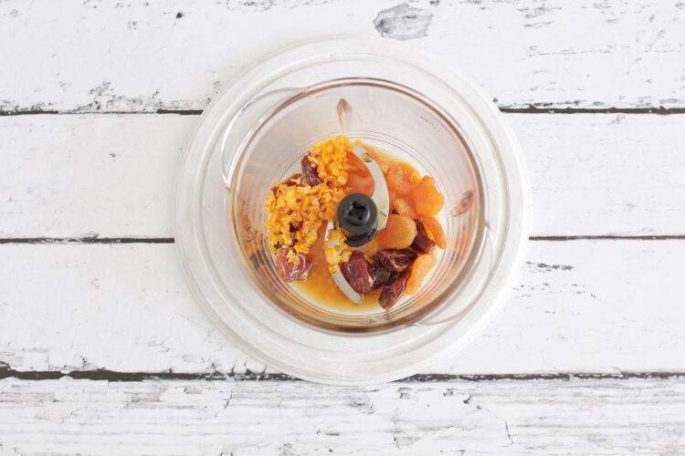 Kokosowo-marchewkowe kulki energetyczne - Krok 1