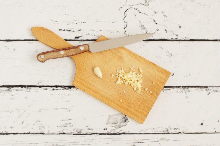 Fasolka szparagowa z jajkiem sadzonym - Krok 1