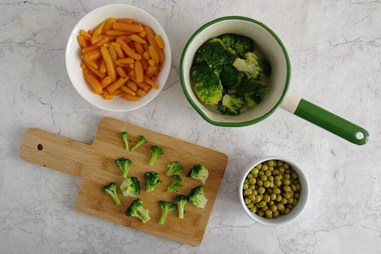 Galaretki warzywne - Krok 1