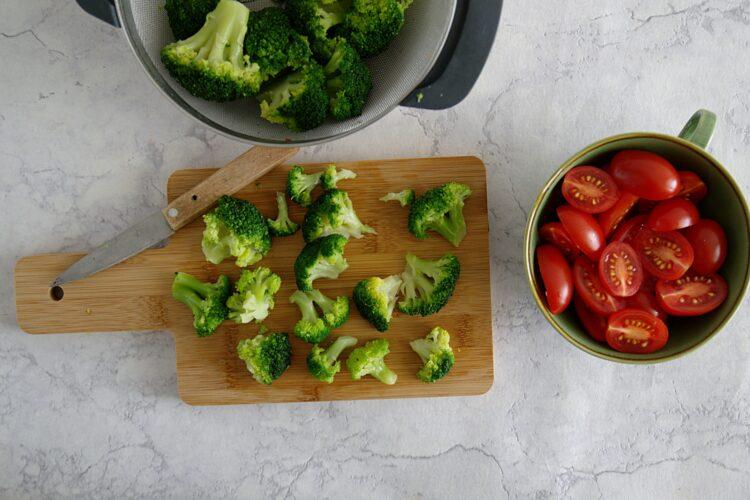 Pizzerinki z warzywami - Krok 3