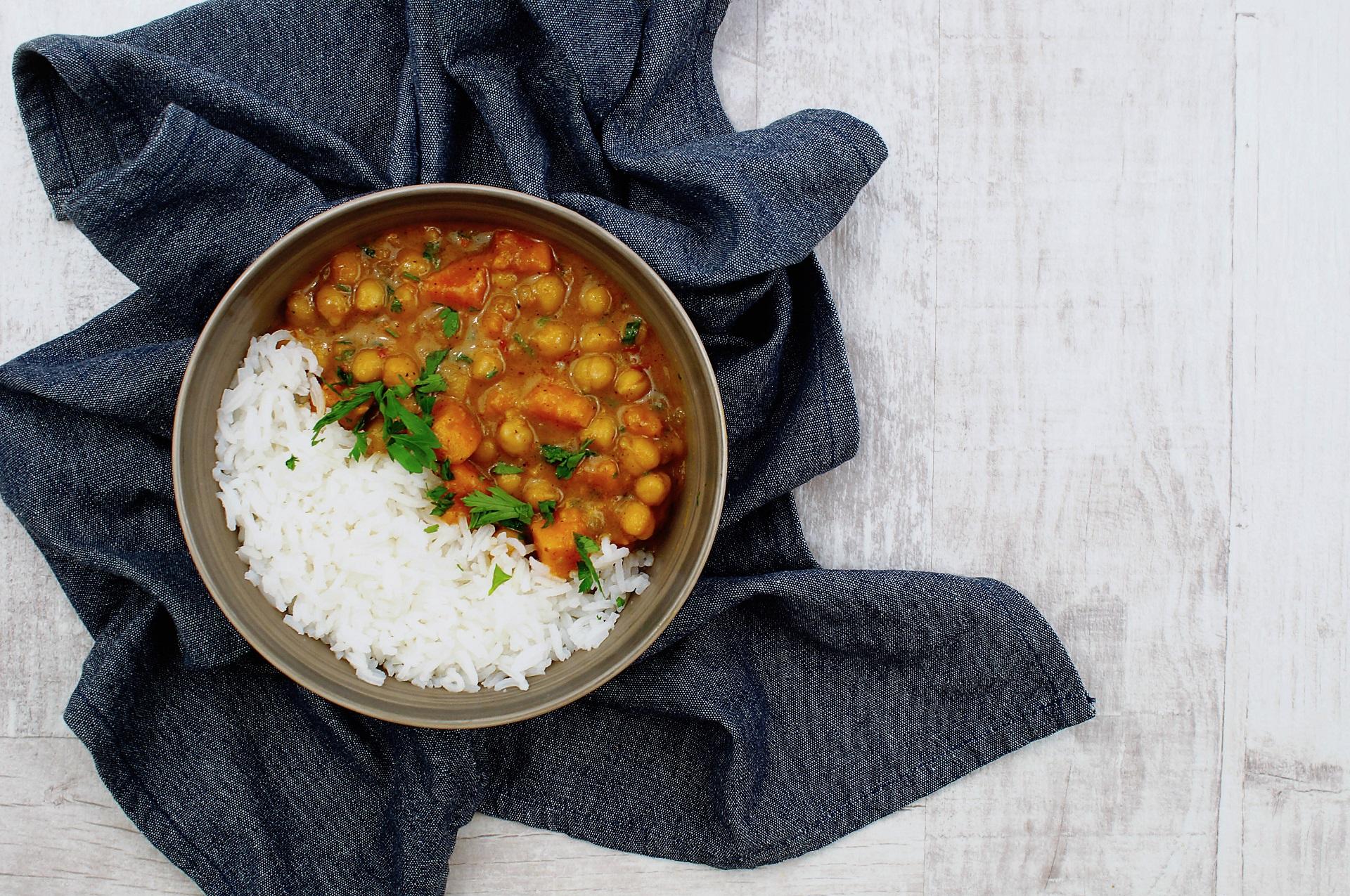 Curry Z Ciecierzyca I Batatami Warzywne Inspiracje Warzywne