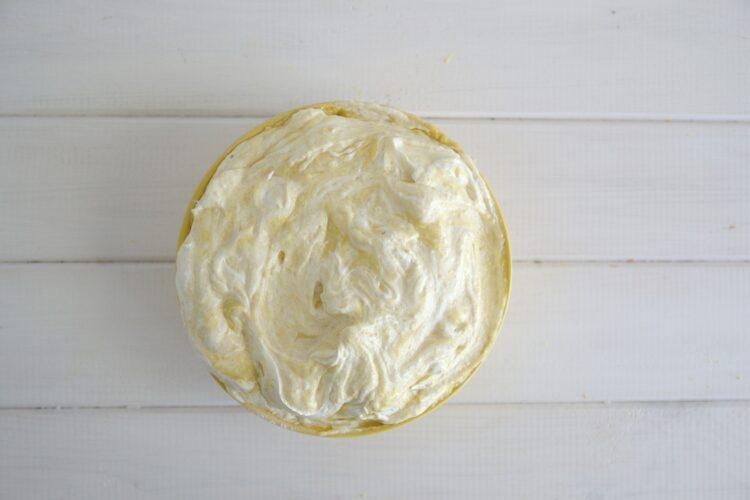 Cytrynowe ciasto z ciecierzycy - Krok 5