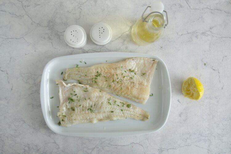 Dorsz pieczony z pomidorami i białą fasolą - Krok 3