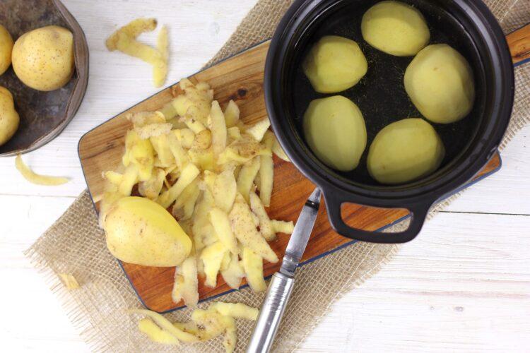 Tłuczone ziemniaki garam masala - Krok 1