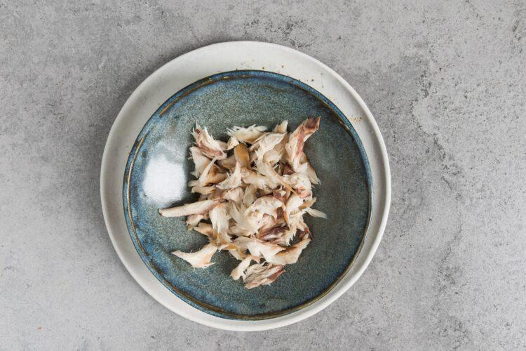 Sałatka z kuskusem i makrelą - Krok 2