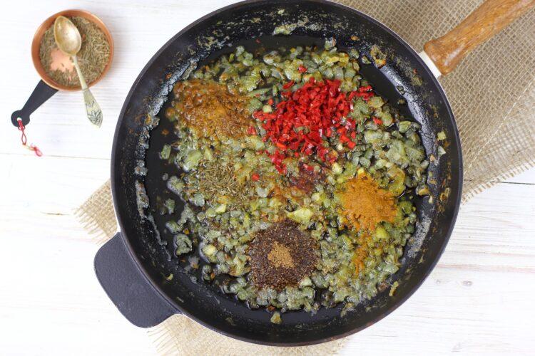 Tłuczone ziemniaki garam masala - Krok 3