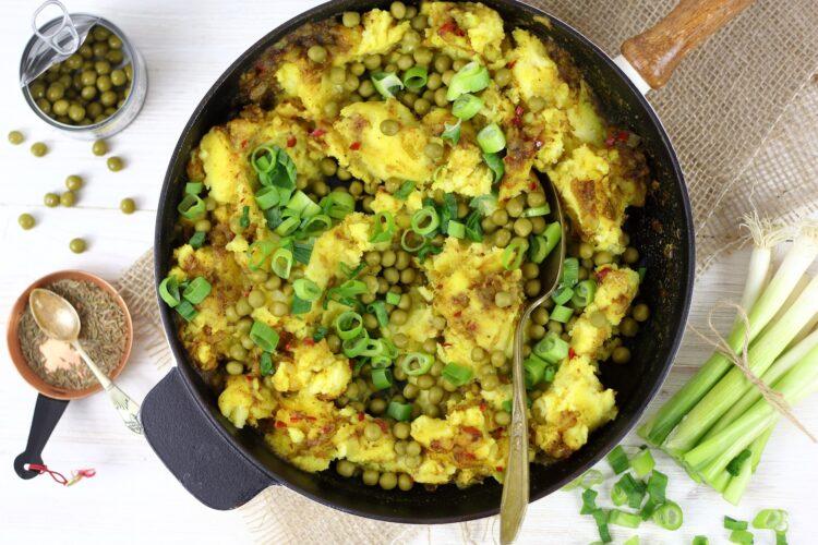 Tłuczone ziemniaki garam masala - Krok 4