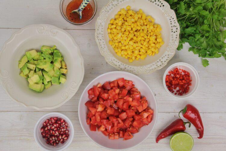 Kukurydziana salsa - Krok 5