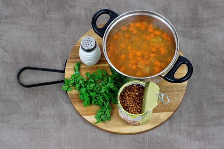 Marokańska zupa z batatami i soczewicą - Krok 3