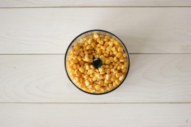 Ciasto z kukurydzy z rodzynkami - Krok 1