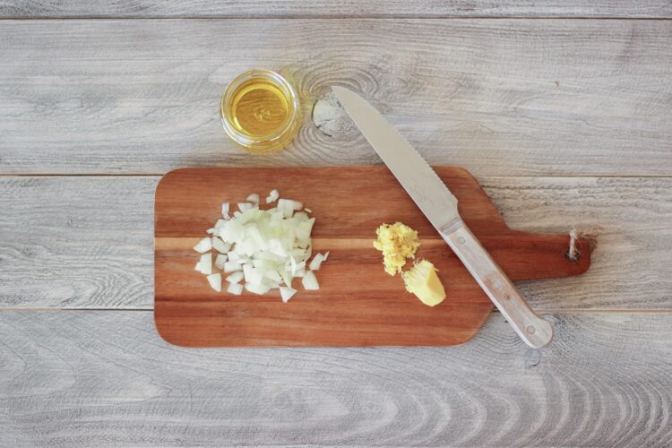 Pikantny imbirowy krem z kukurydzy - Krok 2