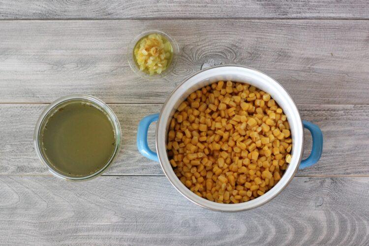 Pikantny imbirowy krem z kukurydzy - Krok 3