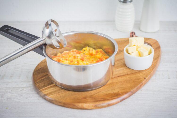 Pierś kaczki na purée z dyni z pomarańczami - Krok 2