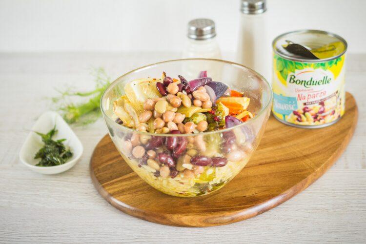 Orzo z pieczonymi zimowymi warzywami - Krok 5