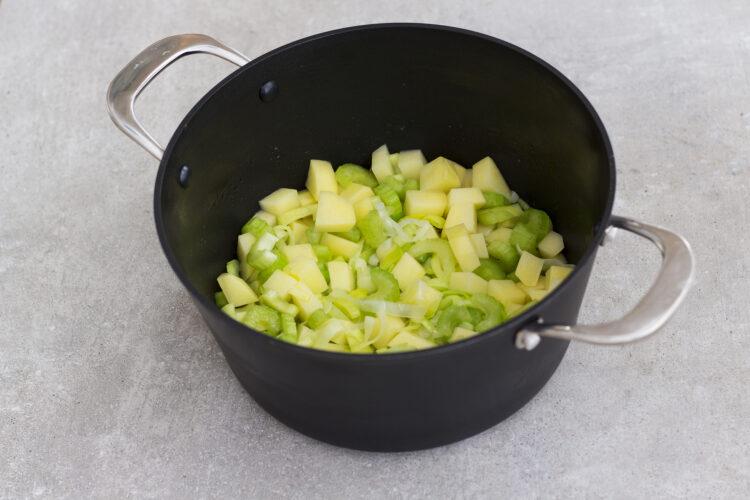 Chowder z kukurydzą i krewetkami - Krok 2