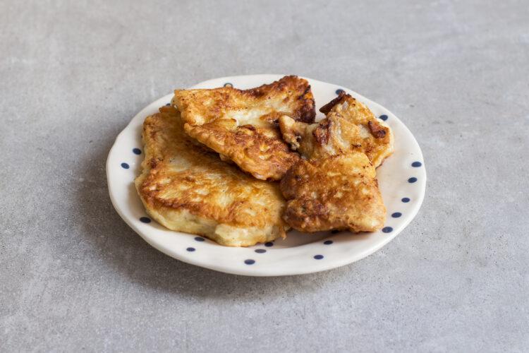 Fish & chips z dorsza na purée z groszku zielonego - Krok 5