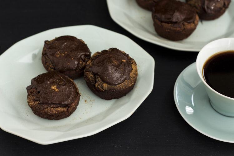 Czekoladowe muffiny z czerwonej fasoli - Krok 5