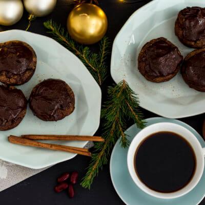 Czekoladowe muffiny z czerwonej fasoli
