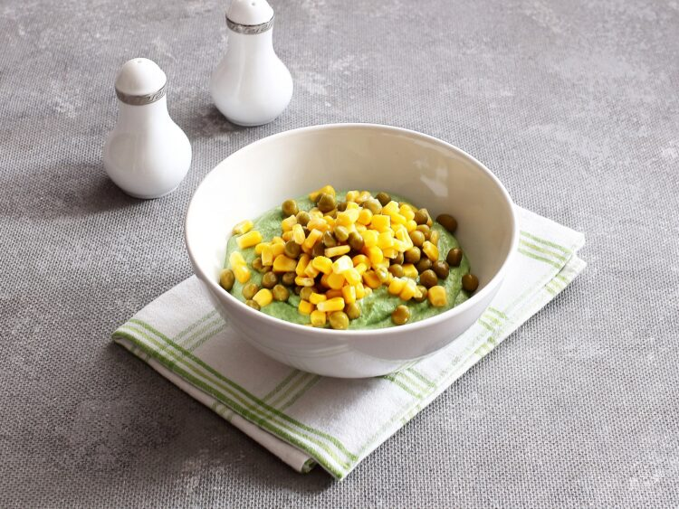 Tymbaliki z kurczaka z groszkiem i kukurydzą - Krok 2