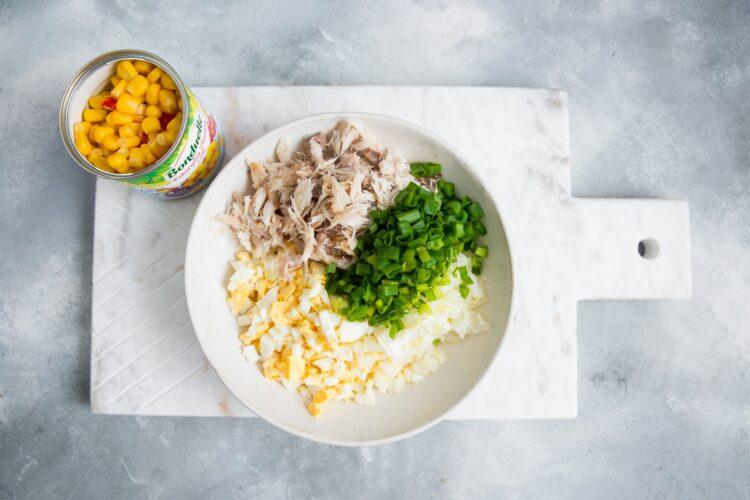 Pasta z makreli z kukurydzą i chili - Krok 3