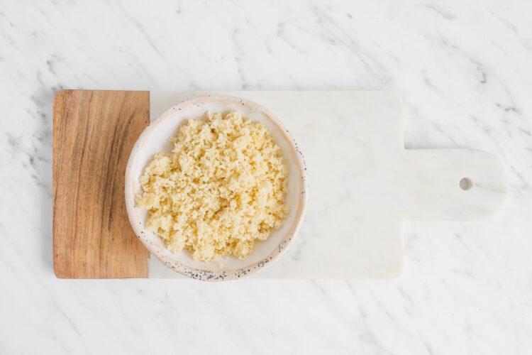 Sałatka z kuskusem, rokpolem i kukurydzą - Krok 1