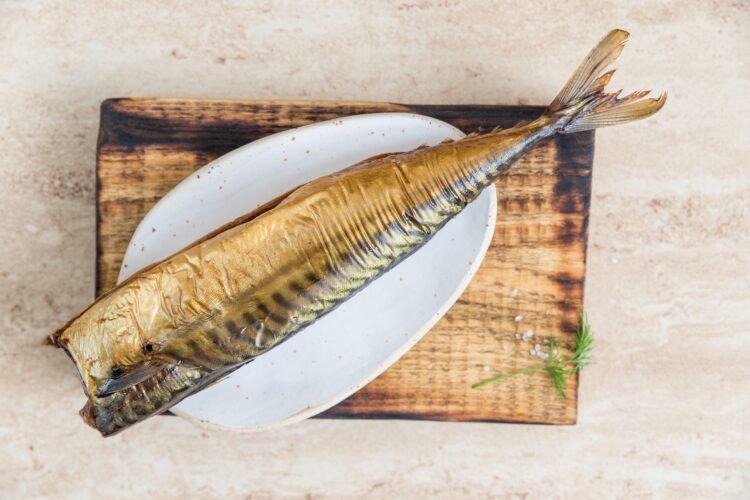Spring rollsy z makrelą i groszkiem - Krok 1