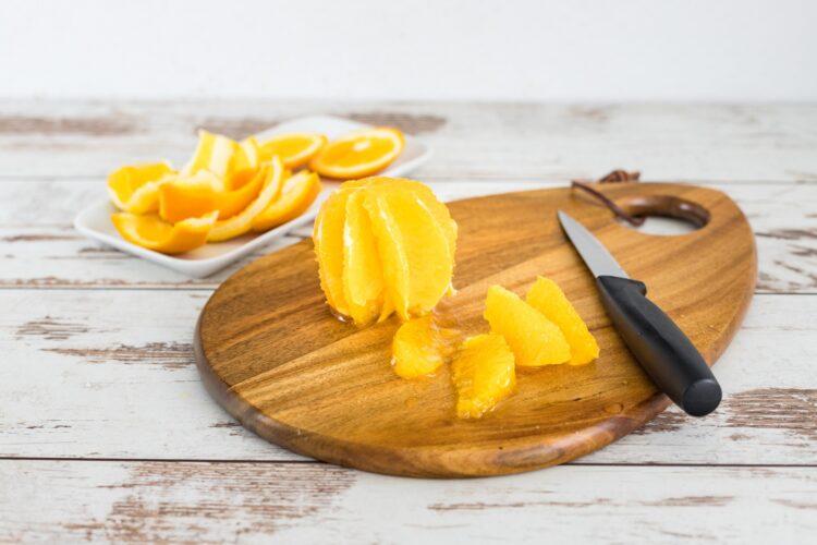 Pierś kaczki z buraczkami karmelizowanymi w pomarańczach - Krok 2