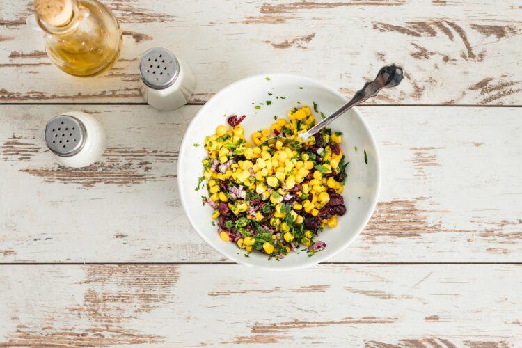 Pikantna szynka z relishem kukurydzianym z żurawiną - Krok 3