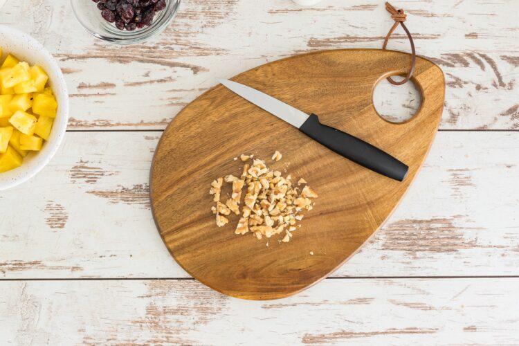 Sałatka z selera z kukurydzą i ananasem - Krok 3