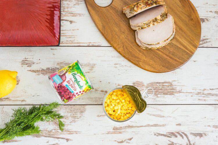 Schab w galarecie z buraczkami i kukurydzą - Krok 3