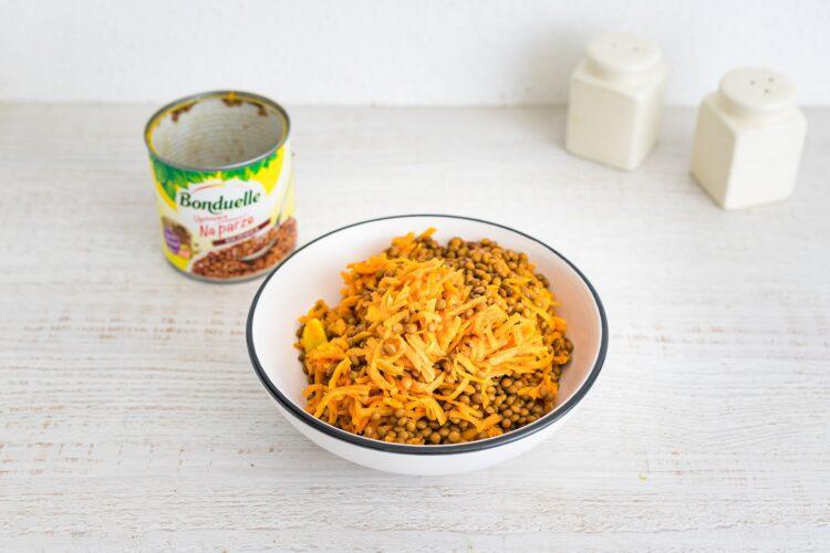 Pasztet curry z soczewicy i marchewki - Krok 2
