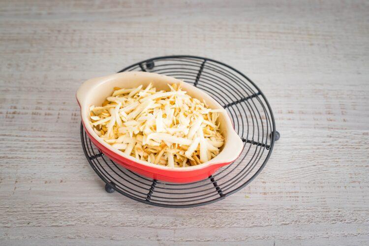 Krokiety z kaszą z warzywami, wędzonym serem i mielonym indykiem - Krok 3