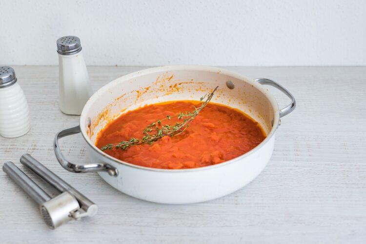 Pulpety w sosie pomidorowym z dynią - Krok 3