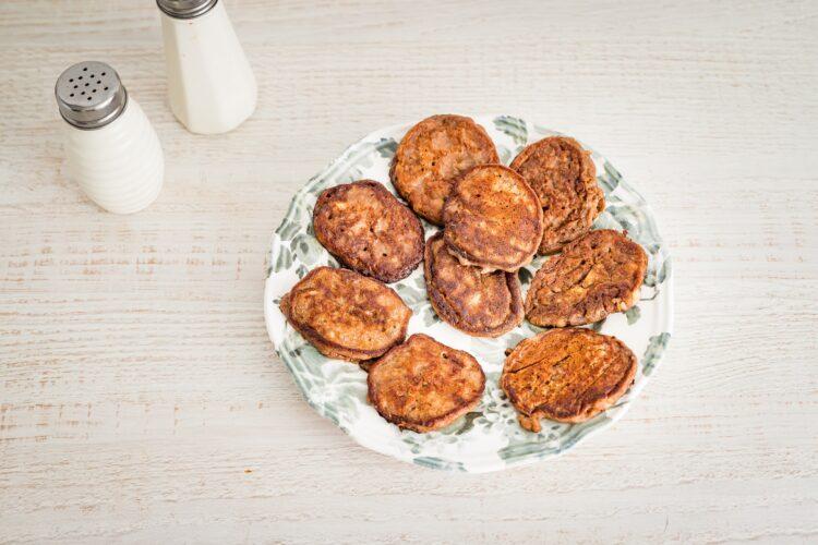 Kakaowe placuszki bananowe z fasoli - Krok 4
