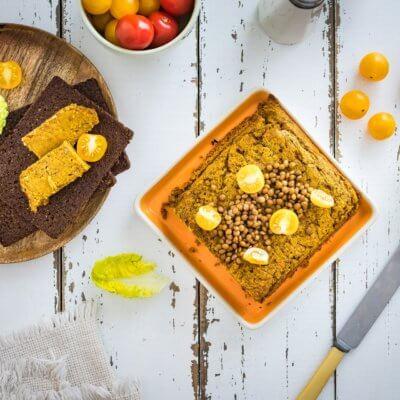 Pasztet curry z soczewicy i marchewki