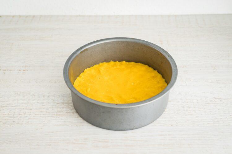 Sernik kukurydziany na kruchym spodzie - Krok 3