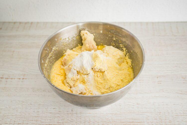 Cytrynowa babka z fasoli z białą czekoladą - Krok 3