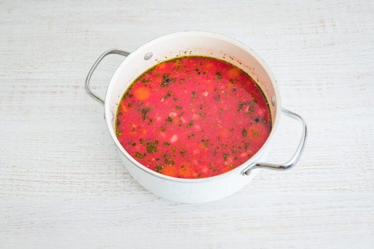 Zupa chrzanowa z buraczkami - Krok 4