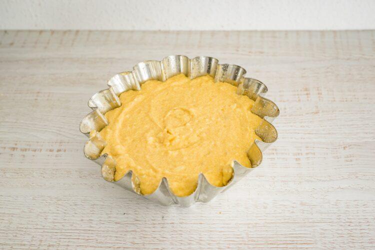 Cytrynowa babka z fasoli z białą czekoladą - Krok 5